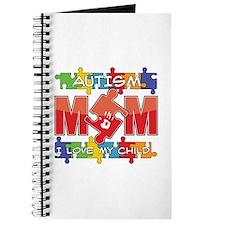 Autism Mom I Love My Child Journal