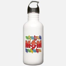 Autism Mom I Love My Child Water Bottle