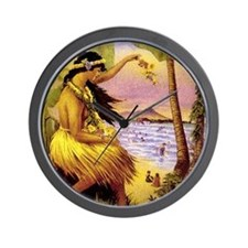 'Mid-Pacific Carnival' Wall Clock