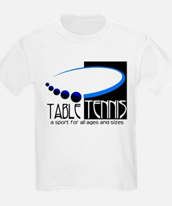 Table Tennis Kids T-Shirt