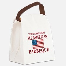 All American BBQ Canvas Lunch Bag