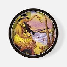 'Mid-Pacific Carnival' Wall Clock