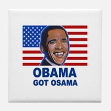 Obama Got Osama Tile Coaster