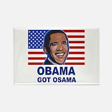 Obama Got Osama Rectangle Magnet