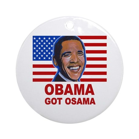 Obama Got Osama Ornament (Round)