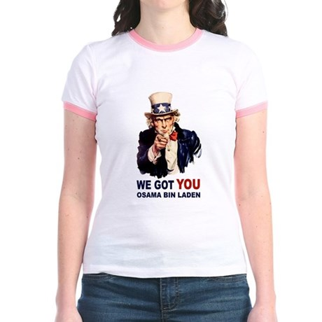 We Got You Osama Bin Laden Jr. Ringer T-Shirt