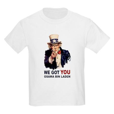 We Got You Osama Bin Laden Kids Light T-Shirt