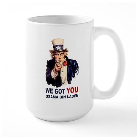 We Got You Osama Bin Laden Large Mug