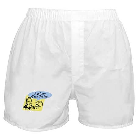 I Got My Free Toaster Boxer Shorts