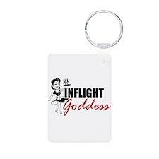 Inflight Goddess Keychains