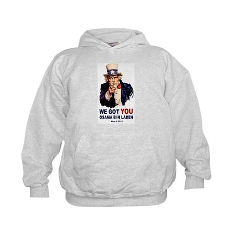 We Got You Osama Bin Laden Kids Hoodie