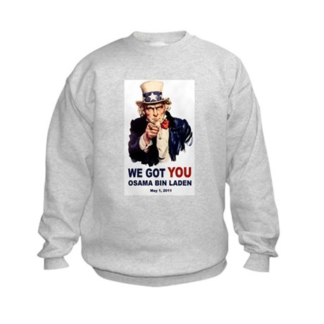 We Got You Osama Bin Laden Kids Sweatshirt