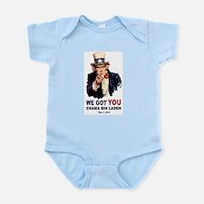 We Got You Osama Bin Laden Infant Bodysuit