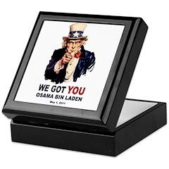 We Got You Osama Bin Laden Keepsake Box