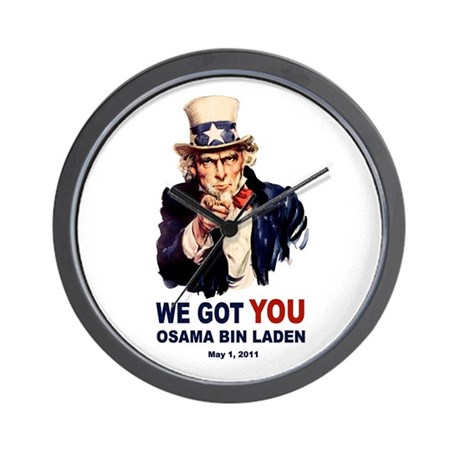 We Got You Osama Bin Laden Wall Clock