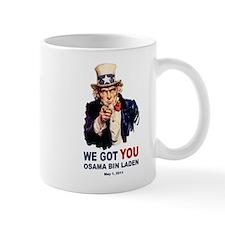 We Got You Osama Bin Laden Mug