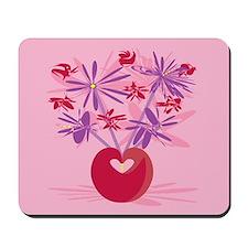 Retro Bouquet Mousepad