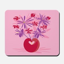 Retro Bouquet Mousepad