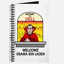 Osama Bin Laden in Hell Journal