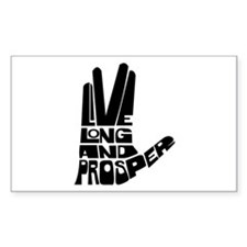 Live long and Prosper Bumper Stickers