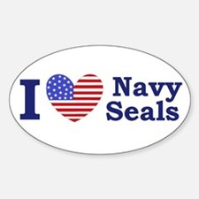 I Love Navy Seals Decal