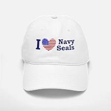 I Love Navy Seals Baseball Baseball Cap