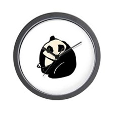 Thoughtful Panda Wall Clock