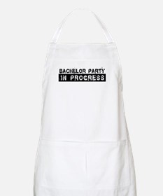 Bachelor Party In Progress BBQ Apron