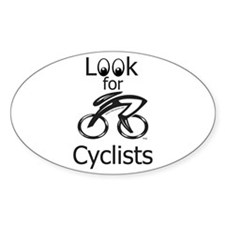 LOOK FOR CYCLISTS 2 Decal