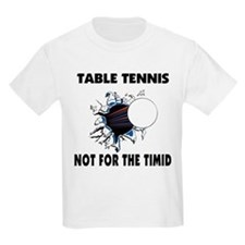 Table Tennis Kids T-Shirt