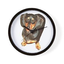 Lil Lily Dachshund Dog Wall Clock