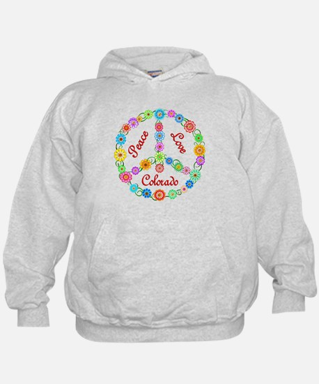 Peace Love Colorado Hoody