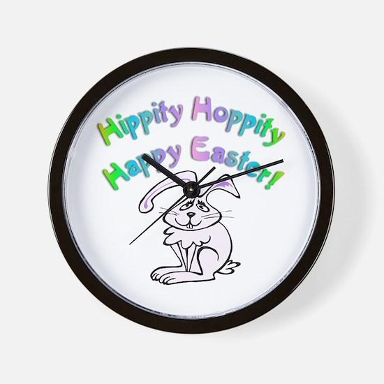 Hippity Easter Wall Clock