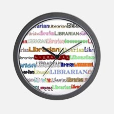 Librarians come in all shapes Wall Clock