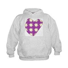 Purple Love Explosion Hoodie