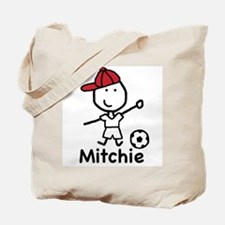 Soccer - Mitchie Tote Bag