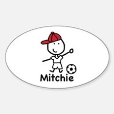 Soccer - Mitchie Oval Decal