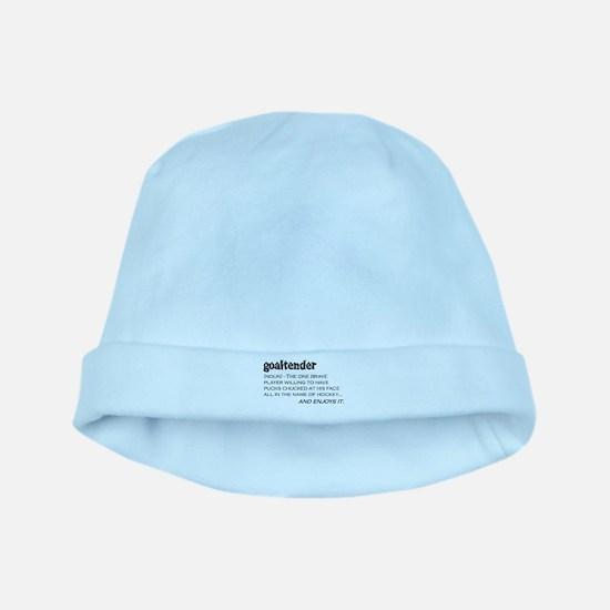 Goaltender baby hat