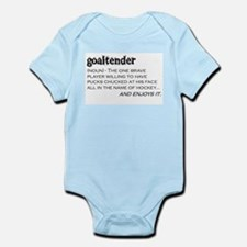 Goaltender Infant Bodysuit