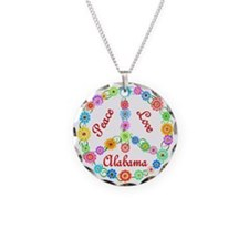 Peace Love Alabama Necklace