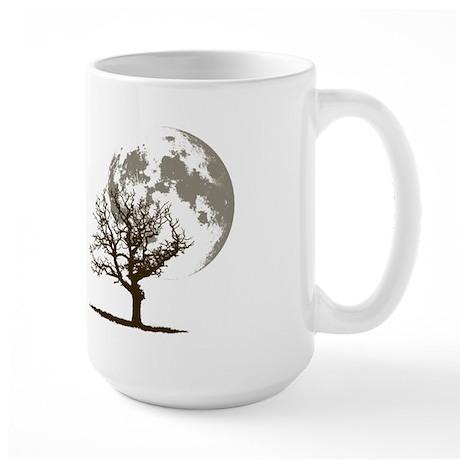 Dead Tree Moon Large Mug