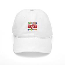 Autism Dad I Love My Child Baseball Cap