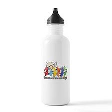 Autism Heaven SentMeAnAngel Water Bottle