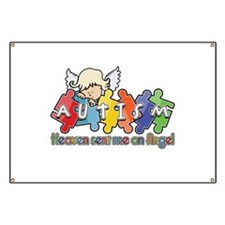 Autism Heaven SentMeAnAngel Banner