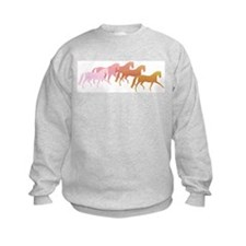 many horses Sweatshirt