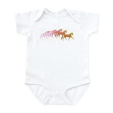 many horses Infant Creeper