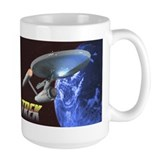 Star trek mug Large Mugs (15 oz)