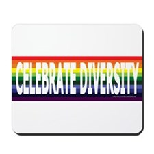 Celebrate Diversity! Mousepad