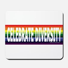 Celebrate Diversity! Mousepad