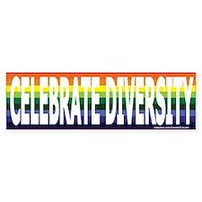 Celebrate Diversity! Bumper Bumper Sticker